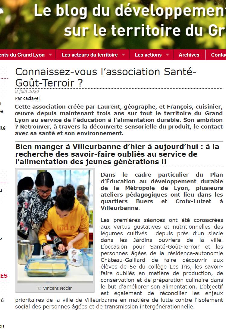 blog du Grand Lyon